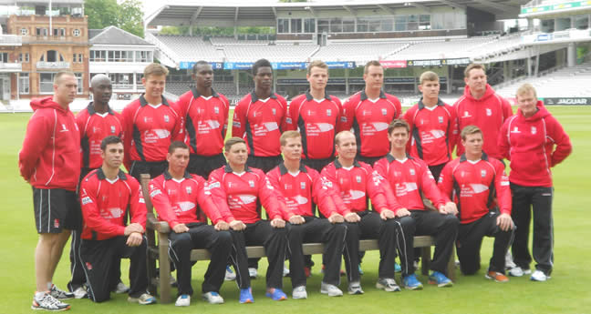 Army Inter Services Team at Lord's 2014