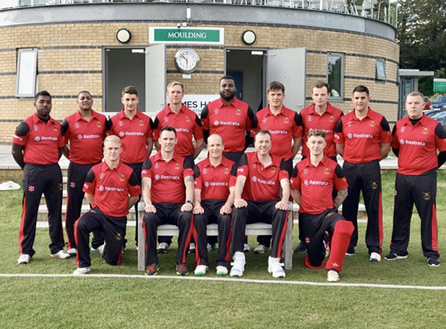 Army XI v South Wiltshire XI played at Bemer4ton on 11th May